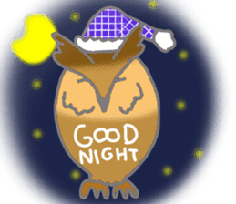 Healing of the OWL sticker #12762159