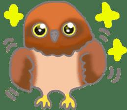 Healing of the OWL sticker #12762161