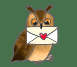 Healing of the OWL sticker #12762162