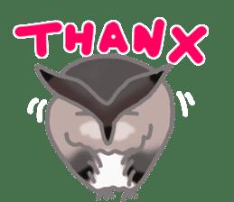 Healing of the OWL sticker #12762163