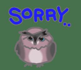 Healing of the OWL sticker #12762164
