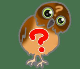 Healing of the OWL sticker #12762165