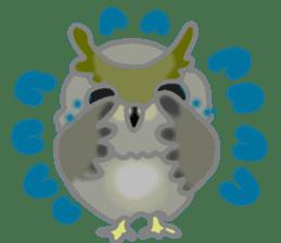 Healing of the OWL sticker #12762167