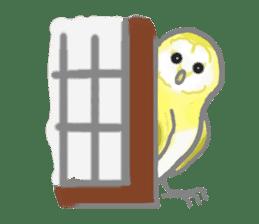 Healing of the OWL sticker #12762170