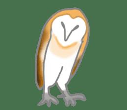 Healing of the OWL sticker #12762171