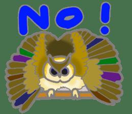 Healing of the OWL sticker #12762173