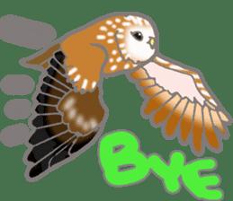 Healing of the OWL sticker #12762174