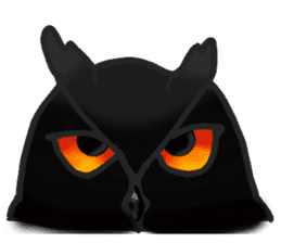 Healing of the OWL sticker #12762175