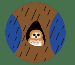 Healing of the OWL sticker #12762177