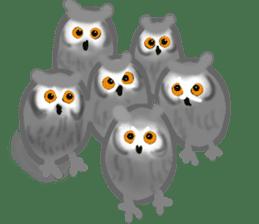 Healing of the OWL sticker #12762182