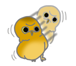 Healing of the OWL sticker #12762184