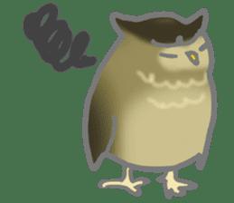 Healing of the OWL sticker #12762185