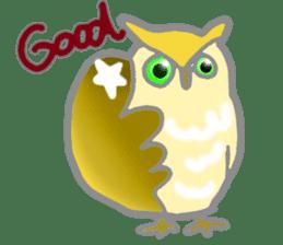 Healing of the OWL sticker #12762186