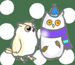 Healing of the OWL sticker #12762188