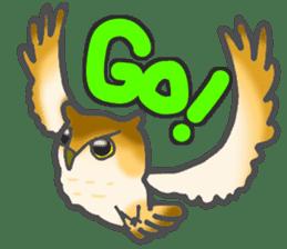 Healing of the OWL sticker #12762189