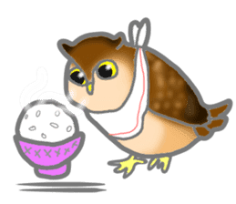 Healing of the OWL sticker #12762190