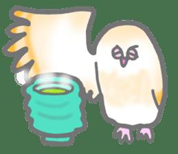 Healing of the OWL sticker #12762191