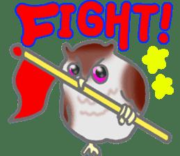 Healing of the OWL sticker #12762192