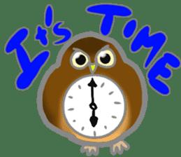 Healing of the OWL sticker #12762193