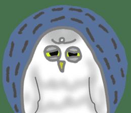 Healing of the OWL sticker #12762194