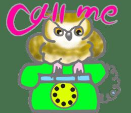 Healing of the OWL sticker #12762197