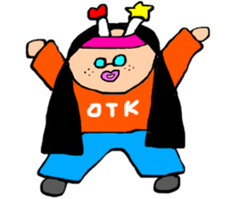 otk sticker #12764714