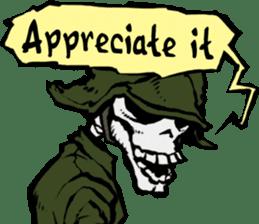 skeleton_soldier_3 sticker #12775072