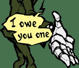 skeleton_soldier_3 sticker #12775076