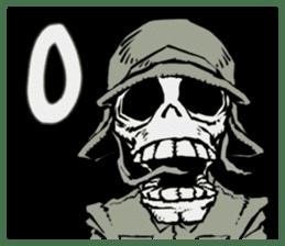 skeleton_soldier_3 sticker #12775105