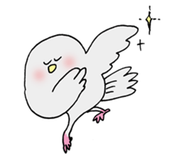 Pigeon of timebell part2 sticker #12775960