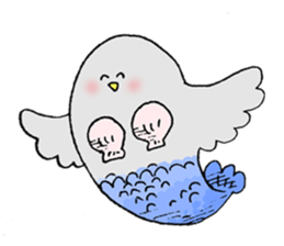 Pigeon of timebell part2 sticker #12775988