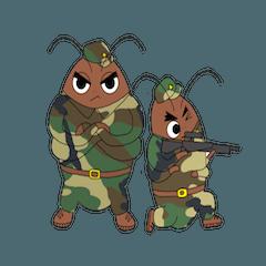 cockroach armys