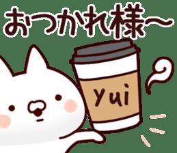 The Yui! sticker #12778608