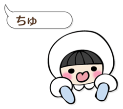 Pretty balloon Sticker sticker #12779719