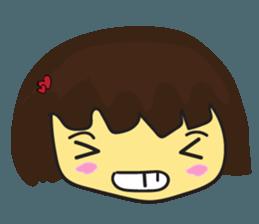 Nu cha cha Emotion sticker #12783487