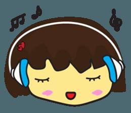 Nu cha cha Emotion sticker #12783491