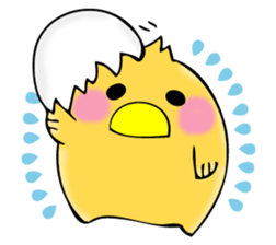 From egg, chick 2 sticker #12797872