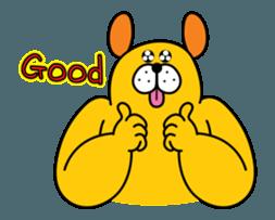 Doggy friends sticker #12798687