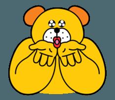 Doggy friends sticker #12798689