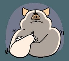 Doggy friends sticker #12798704