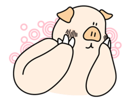 Doggy friends sticker #12798707