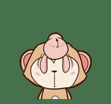 Pink Rabbit Animated sticker #12798953