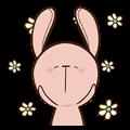 Pink Rabbit Animated