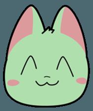 Midori no Neko sticker #12805774