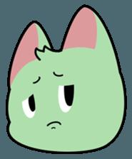 Midori no Neko sticker #12805776