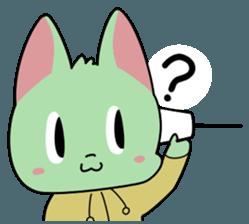 Midori no Neko sticker #12805783