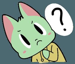 Midori no Neko sticker #12805784