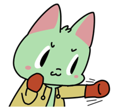 Midori no Neko sticker #12805788