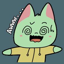 Midori no Neko sticker #12805795