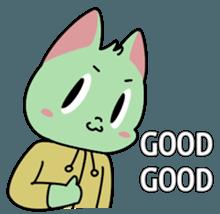 Midori no Neko sticker #12805796